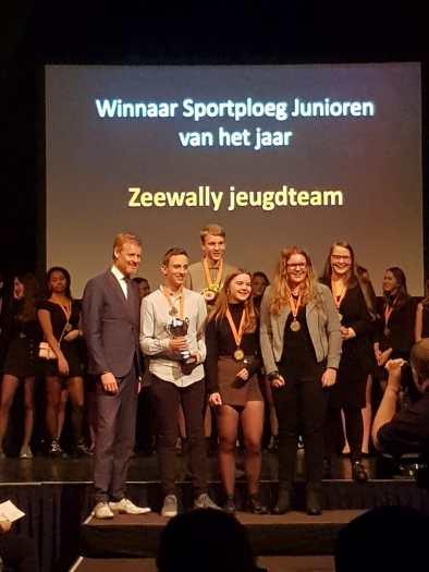 Zeewally J2 Sportploeg van het jaar